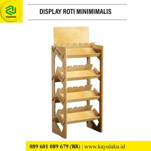 Display Roti Minimimalis